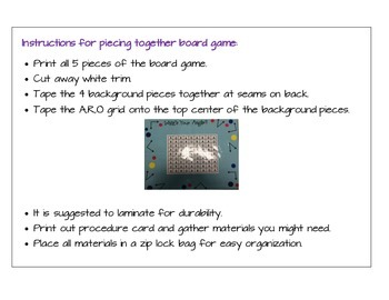 What's Your Angle Board Game
