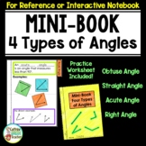 Angles Flip Book - 4 Types of Angles