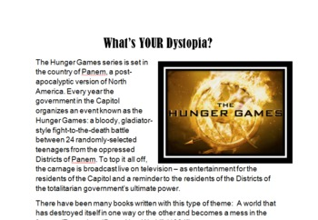 What's Your Dystopia?