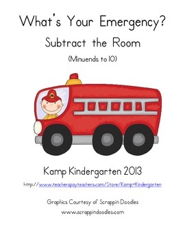 What's Your Emergency Subtract the Room (Minuends to 10)