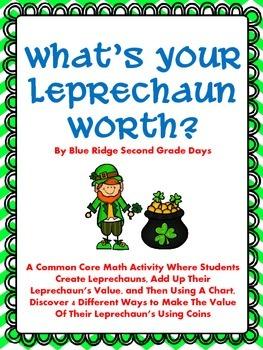 What's Your Leprechaun Worth? A Money Leprechaun Activity