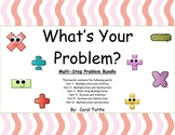 What's Your Multistep Story Problem?  BUNDLE of Six Products