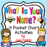 What Is Your Name? (4 Pocket Chart Poems and Songs)