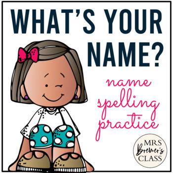 EDITABLE Names Practice Resource