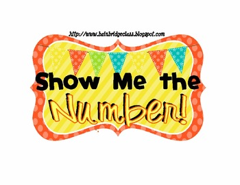 What's Your Number- Finger Management System- EDITABLE