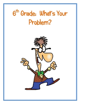 What's Your Problem (Creating Order of Operations Problems)