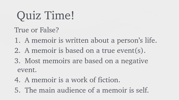 What's Your Story?  It Could Be a Memoir!