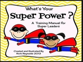 What's Your Super Power?: A Glyph, Graph and Writing Activ