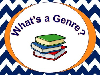 What's a Genre? McGraw Hill Unit 1