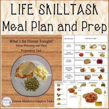 LIFE SKILL Meal Plan and Prep