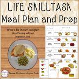 LIFE SKILL Meal Plan and Prep