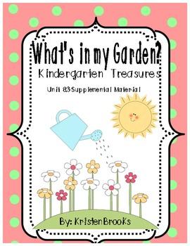What's in My Garden Kindergarten Treasures 8.3 Supplementa