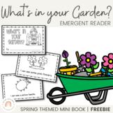 FREE Spring Emergent Reader