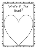 What's in Your Heart? Heart Map Template