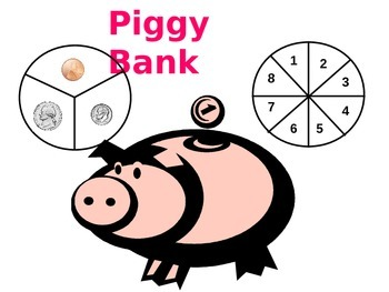 What's in Your Piggy Bank? - Money counting game