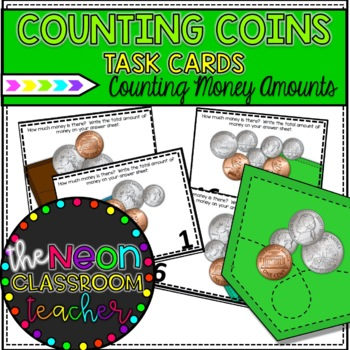 What's in Your Pocket?  Money Roam the Room Activity