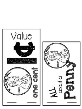 What's in a Dollar? {Booklets & Flipbooks for Learning About Coins}