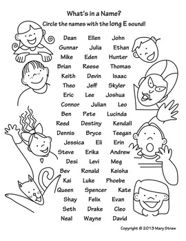 What's in a Name? A Long Vowel Sound Search