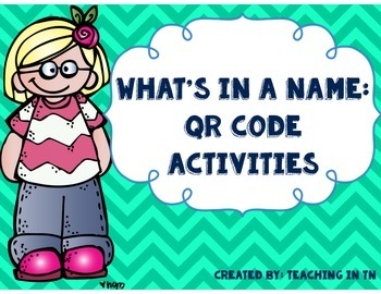 What's in a Name: QR Code Activities