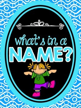 What's in a Name? Research Project