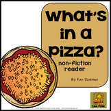 What's in a Pizza? {emergent reader}