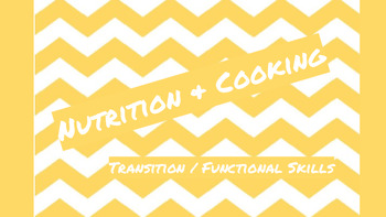 What's in my Pantry? Cooking Preparation Lesson and Worksheet