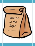 What's in the Bag?: Composing and Decomposing in base ten.