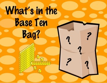 What's in the Base Ten Bag?