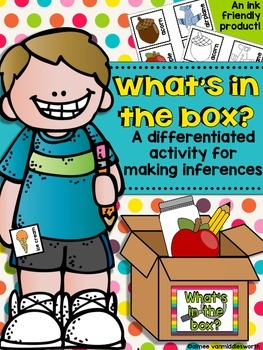 What's in the Box A Differentiated Activity for Making Inferences