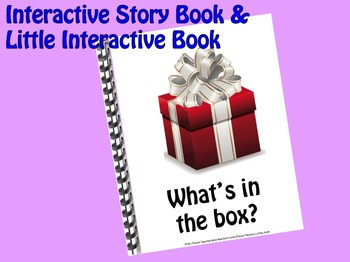 What's in the Box? INTERACTIVE STORY BOOK & Little Interactive Book
