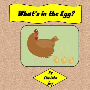 Incubating Chicken Eggs Unit for Special Education