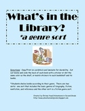 What's in the Library:  Genre Sort