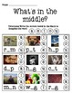 What's in the Middle Worksheet Pack
