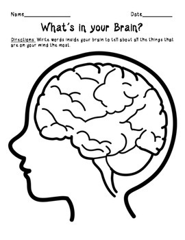 What's in your Brain?  A Getting to Know You Activity