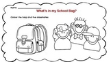 What's in your School Bag? a handout