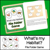 What's my Habitat? File Folder Game