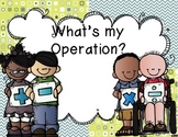 What's my Operation?
