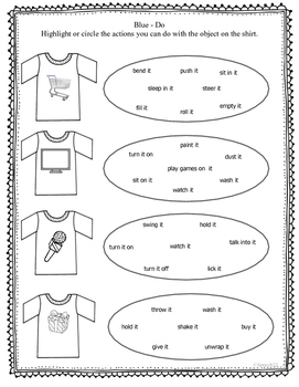 """What's on your Shirt?""  for improving expressive language skills"