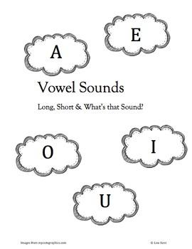 What's that sound? Vowel Find
