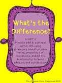 What's the Difference? - Subtracting Tens & Ones - 2.NBT.5 - Math Center Game