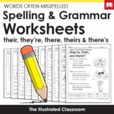 Free Spelling Worksheets