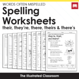 Free Spelling Worksheets