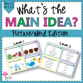 What's the Main Idea? {Introducing Main Idea}