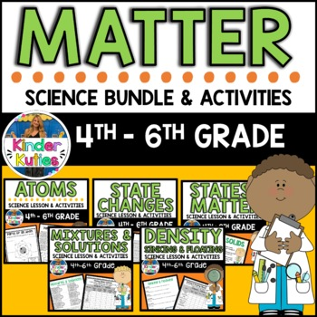 3rd Grade Science Chemistry Worksheets & Teaching Resources