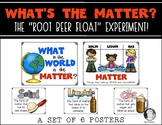 What's the Matter Root Beer Float Experiment Posters Kindergarten & First Grade