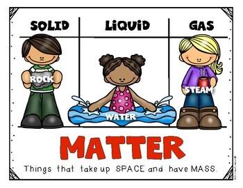 What's the Matter Root Beer Float Experiment Posters Kindergarten & First Grade