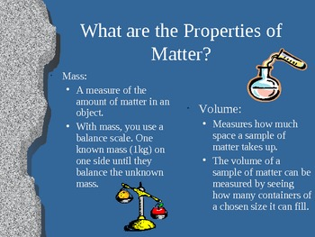 What's the Matter with Matter? -PowerPoint