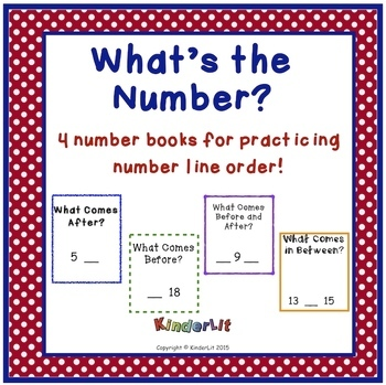 Write the Missing Number In Four Number Line Workbooks