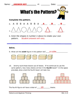 What's the Pattern?