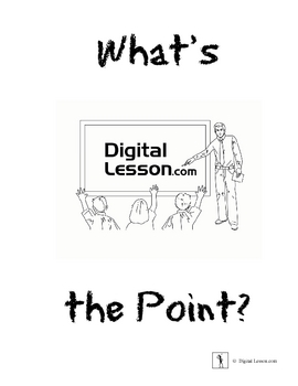 What's the Point? - Coordinate Graphing Pictures